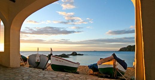 Pueblos en la Costa Brava