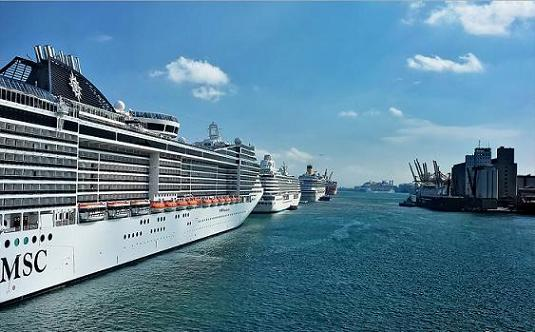 Barcelona en crucero